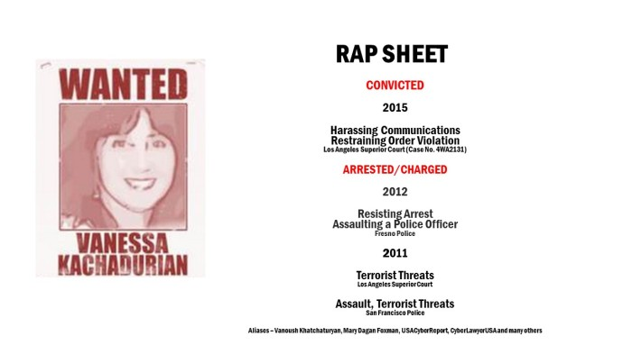 Vanessa Kachadurian Crime Line