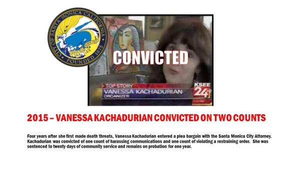 Vanessa Kachadurian Convicted on Two Counts