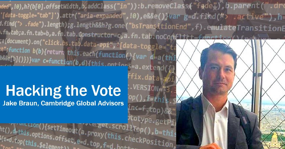 CLBR #273: Hacking the Vote with Jake Braun