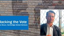 Jake Braun: Hacking The Vote