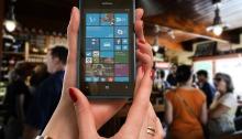 Nokia Phone in hands
