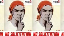 Woman and No Solicitation