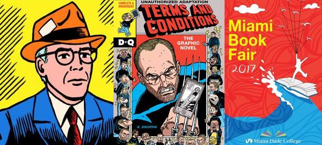 CLBR #286: Robert Sikoryak and His Comic Terms and Conditions
