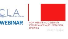 ADA Website Accessibility Webinar