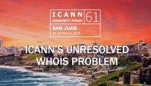 ICANN's Unresolved Whois Problem