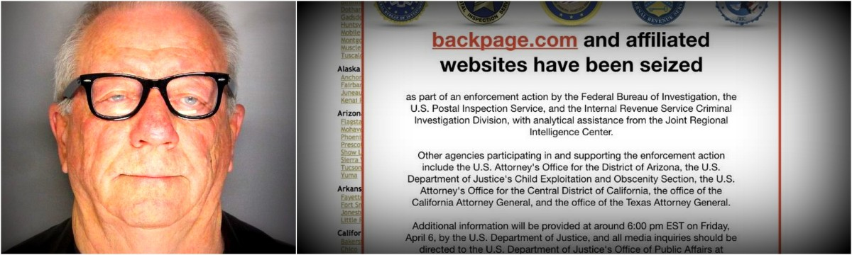 Backpage Shut Down by Feds as Part of 93-Count Indictment