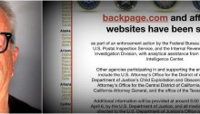 Backpage.com Website Seized
