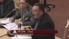 Bennet Kelley at Senate Business & Professions Hearing on AB 2546