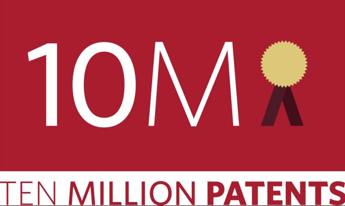 USPTO Issues 10 Millionth Patent