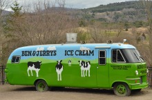 Photo of Vermont's Ben & Jerry's Ice Cream Truck