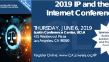 2019 IP and the Internet Conference