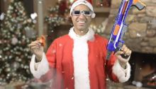 Ajit Pai in Santa Suit