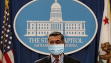 AG Becerra with Mask